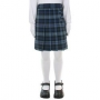 Blue Red Plaid Skort