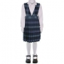 Blue Red Plaid Jumper: Sizes 7-14