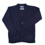 Unisex V Neck Cardigan Sweaters: Sizes 4-7